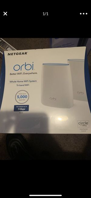 Orbi whole home wifi system for Sale in Los Angeles, CA