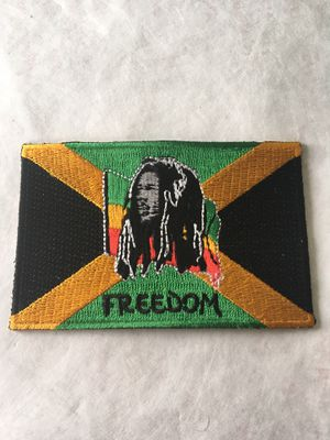 Bob Marley Jamaica Rasta Iron on patch for Sale in Lemon Grove, CA