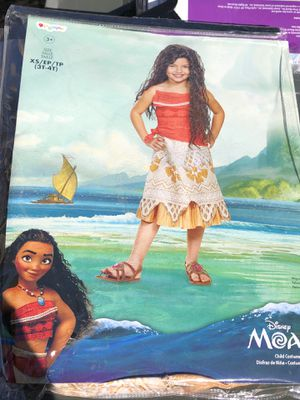 Moana Costume for Sale in Tracy, CA