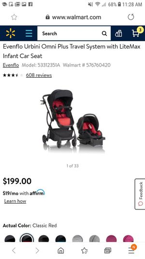 Carseat stroller combo for Sale in Stanley, NC