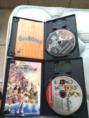 GTA San Andreas+ Kingdom Hearts 2 for Sale in Riverview, FL