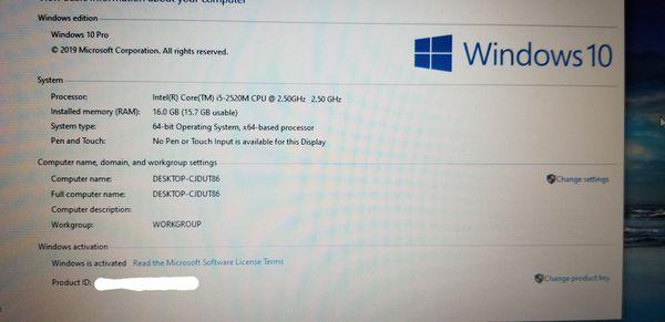 "Lenovo Thinkpad T430 i5 2.5GHz 16GB RAM 128GB SSD 14"" laptop notebook"