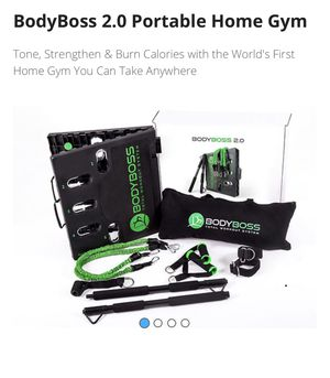 Body Boss 2.0 portable home gym for Sale in Queens, NY