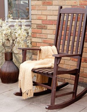 New!! Outdoor Rocking chair, patio solid wood rocking chair, outdoor furniture, brown, set of 2 for Sale in Phoenix, AZ