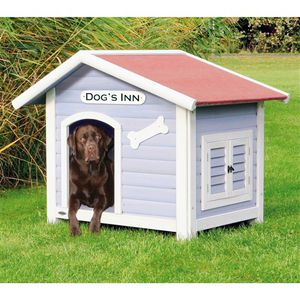 Solid Pine Wood Weatherproof Dog House with Adjustable Feet for Sale in Phoenix, AZ
