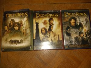 Lord of the rings DVDs for Sale in Ocala, FL