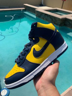 Nike Dunk High Michigan 11.5 New for Sale in Pomona, CA