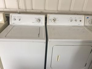 Kenmore washer and electric dryer for Sale in San Luis Obispo, CA