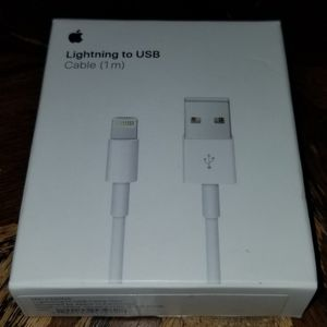 Genuine Apple Lightning to USB Cable (1 m) - MXLY2AM/A - A1480 - NEW for Sale in Hawthorne, CA