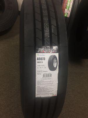 commercial truck tire Arisun 295/75r22. drive 11r22.5 all position Yokohama steer for Sale in Riverside, CA