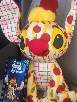 Stitch crashes Disney Lady and the Tramp Plush and Pin 2/12 for Sale in El Cerrito,  CA