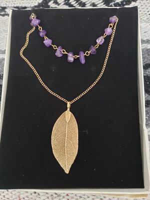 Leaf necklace for Sale in Revere, MA