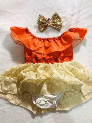 9/12mo Moana romper outfit for Sale in National City, CA