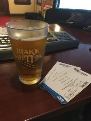 Blake Shelton Glass for Sale in undefined