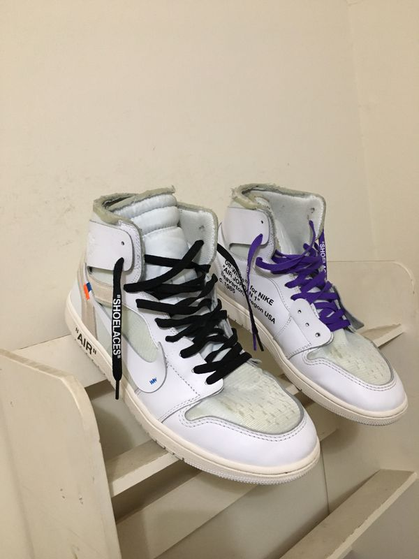 Offwhite Jordan size 13 100 authentic
