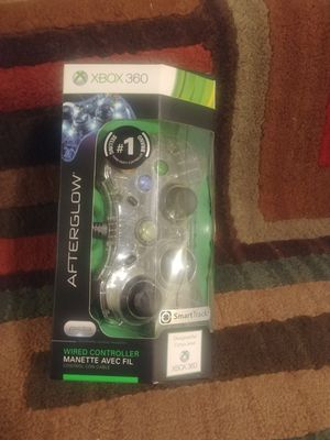 XBOX 360 Afterglow (Blue) PL3702 Controller for Sale in Bloomington, IL