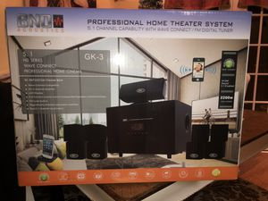 BNO Acoustics Home Theater System for Sale in College Station, TX