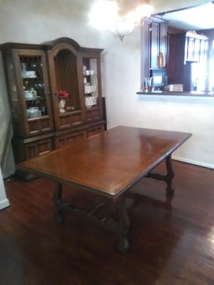 Solid wood Dining Room Table only for Sale in Alexandria, VA
