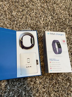 Fitbit Charge 2 Fitness Tracker for Sale in Longmeadow, MA