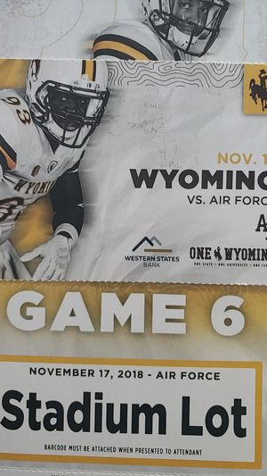 Wyoming vs Air Force for Sale in Cheyenne, WY