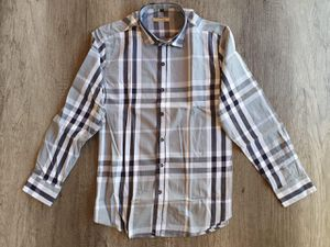 New men's Burberry dress shirt size available Lg,Sm and Med for Sale in Bakersfield, CA