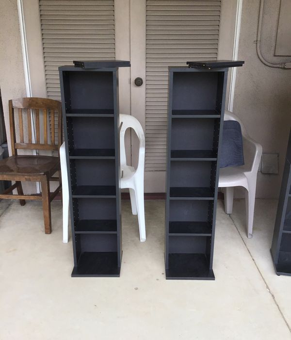 DVD / CD / Game / Media / Collector Display Shelf Shelves ($10 for one / $15 for both)