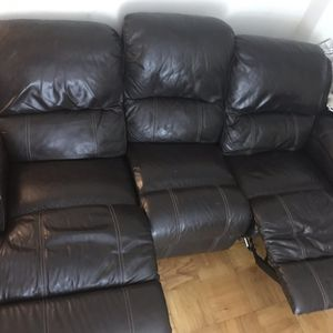 Sofa with reclining chair for Sale in Annandale, VA