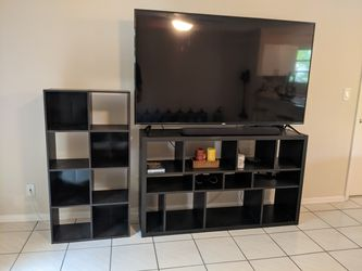 Entertainment Stand And Open Shelving! (Electronics Excluded) for Sale in Miami, FL