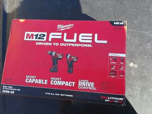 Milwaukee M12 Fuel Combo Drills for Sale in Hazard, CA