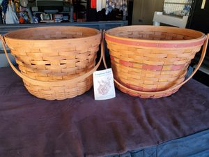 Collectible Longaberger Baskets for Sale in San Diego, CA