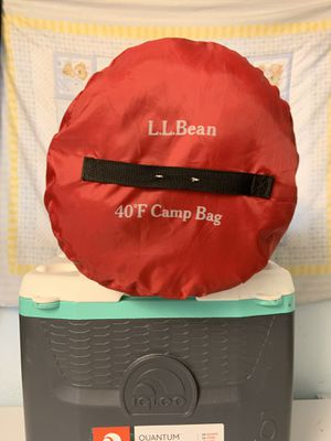 LL Bean sleeping bag - forty degree for Sale in St. Petersburg, FL