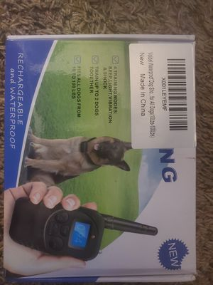 Dog training active collar 4 for Sale in Gastonia, NC