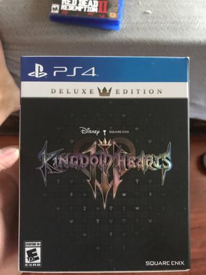 Kingdom Hearts 3 collectors edition for Sale in Los Angeles, CA