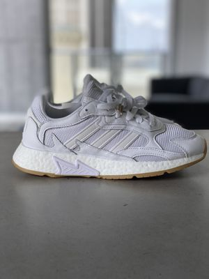 NEW Adidas boost TRES RUN SHOES cloud white sizes men's 5.5 & 6 / women's 7 & 7.5 for Sale in Miami, FL