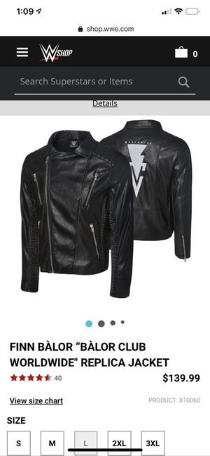 WWE Leather Jacket. XXL for Sale in Marysville, WA