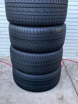 Set of 4 295/40/21 continental for Sale in Bakersfield,  CA
