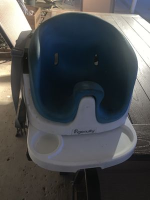 Ingenuity Baby Base 2-in-1 Booster Seat $10 for Sale in Moreno Valley, CA