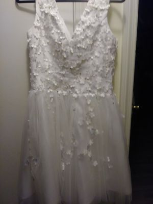 Beautiful wedding dress hand made for Sale in Framingham, MA