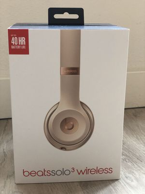 Beats Solo 3 Wireless Headphones for Sale in Seattle, WA