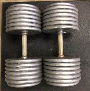 135 lbs Pro-Style Dumbbells for Sale in Pittsburgh, PA