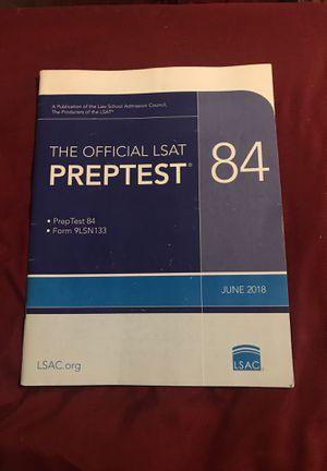 LSAT Preptest 84 for Sale in Silver Spring, MD
