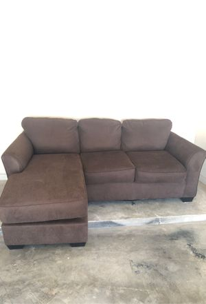 Dark Brown couch from Ashley's furniture 2 years old for Sale in Amarillo, TX