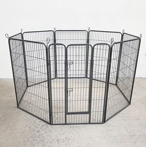 "$120 NEW Heavy Duty 48"" Tall x 32"" Wide x 8-Panel Pet Playpen Dog Crate Kennel Exercise Cage Fence for Sale in Whittier, CA"