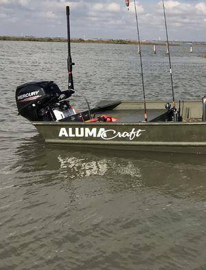 Mercury 15hp 4 stroke outboard for Sale in San Antonio, TX