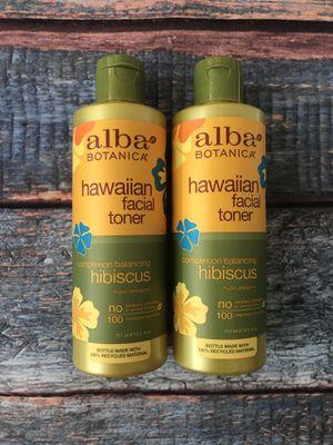 Alba Botanica Hawaiian Facial Toner Hibiscus (2) for Sale in Hoboken, NJ
