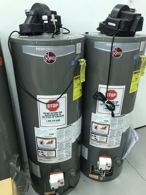 Rheem 50gal water heater propane with vent for Sale in Atlanta, GA