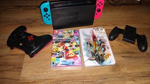 Nintendo switch for sale everything in photo is included with a case for travel. for Sale in Las Vegas, NV