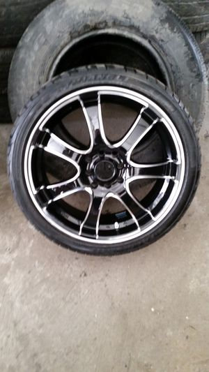 "17 "" 4×100/4×114.3 rims for Sale in New York, NY"