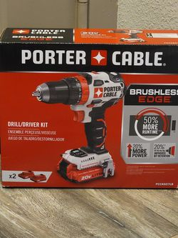 PORTER-CABLE 20V MAX Cordless Drill / Driver Kit, 1/2-Inch (PCCK607LB) for Sale in Houston,  TX