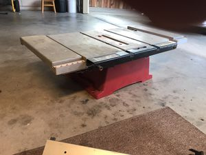 Tradesman table saw for Sale in East Palo Alto, CA